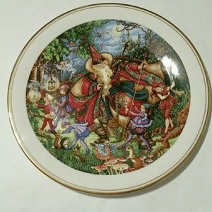 Royal Doulton Collector Gallery Plate Spellbinder
